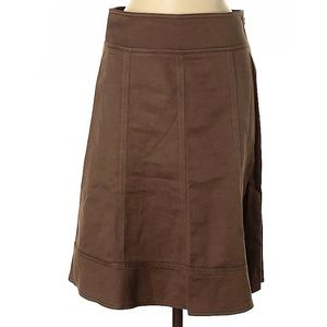 DKNY casual skirt size 2 brown